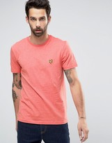 Lyle & Scott T-Shirt With Eagle Logo In Red