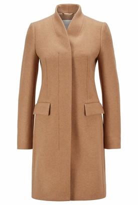 HUGO BOSS Women's C_cojulie Wool Blend Coat