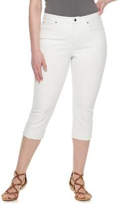JLO by Jennifer Lopez Plus Size Capri Jeans