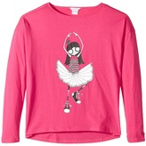Little Marc Jacobs Long Sleeve T-Shirt Girl's T Shirt