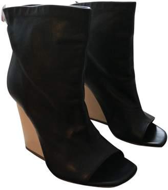 Vic Matié Black Leather Boots