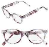 Derek Lam Women's 45Mm Optical Glasses - Grey Smoke