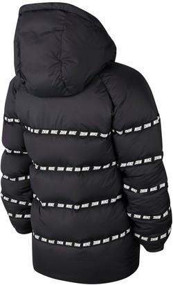Nike Older Down Jacket - Black/White