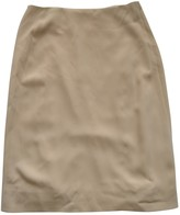 Calvin Klein Collection Beige Skirt for Women