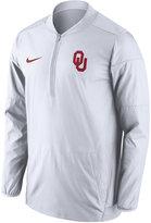 Nike Men's Oklahoma Sooners Lockdown Half-Zip Jacket