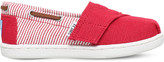 Toms Bimini striped canvas shoes 2-7 years