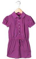 Ralph Lauren Girls' Floral Print Short Sleeve Dress