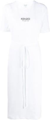 Kenzo tie-waist midi T-shirt dress