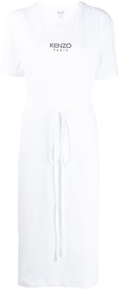 Kenzo tie-waist midi T-shirt dress