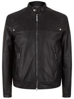 Stefano Ricci Woven Croc Leather Jacket