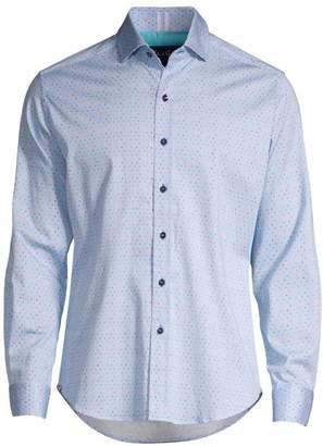 Robert Graham Classic-Fit Alderson Multicolor Micro Dot Shirt