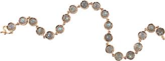 Irene Neuwirth Jewelry 5MM Rose Cut Labradorite Bracelet