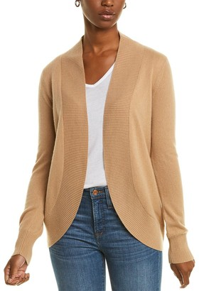 Two Bees Cashmere Racing Stripe Cashmere Cardigan