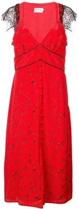 Tanya Taylor lace trim dress