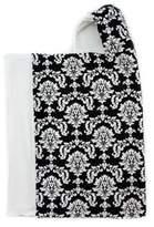 Bella BundlesTM Snap Hooded Towel in Black Damask