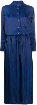 Zadig & Voltaire Radial shirt maxi dress