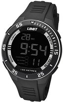 Limit Active Unisex Digital Watch with LCD Dial Digital Display and Black Plastic Strap 5571.24