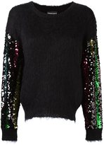 Emporio Armani sequinned longsleeved sweater