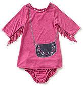 Jessica Simpson Baby Girls 12-24 Months Purse Applique A-Line Dress