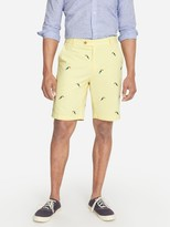 J.Mclaughlin Oliver Embroidered Shorts in Toucan