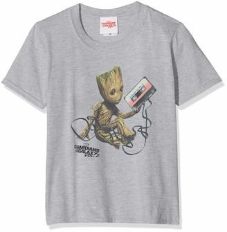 Marvel Girl's Guardians of The Galaxy Vol2 Groot Tape Sweatshirt