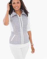 Chico's Rowan Heathered Vest