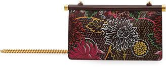 Valentino Garavani Carry Secrets Small Flower Clutch Bag