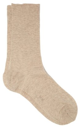 Falke Sensual Cotton-blend Socks - Beige