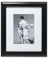 Lawrence Frames Gallery Frame with or without Mat, 5 by 7/8 by 10-Inch, Black