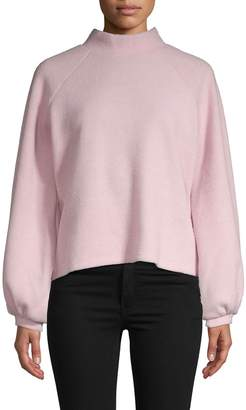 Walter Baker Mockneck Long-Sleeve Sweater