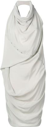 Rick Owens Babel ellipse tunic dress