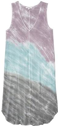 Splendid Riva Dress (Tie-Dye) Women's Clothing