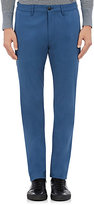 Theory Men's Zaine Stretch-Cotton Trousers-BLUE