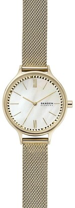 Skagen Anita Gold-Tone Analogue