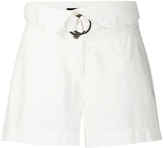 Pinko Foldover High-Rise Short
