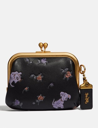 Coach Disney X Kisslock Frame Pouch With Disney Motif