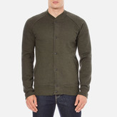Levi's Men's Fleece Bomber Jacket Chain Olive Night/Black Chain Yarn