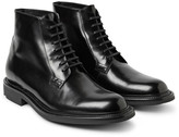 Saint Laurent - Polished-leather Boots