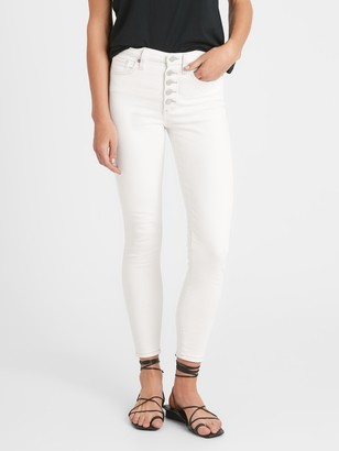 Banana Republic High-Rise Skinny Button Fly Jean