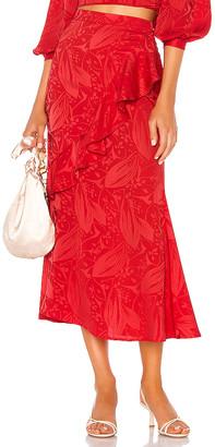 Song of Style Eaton Midi Skirt