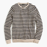 J.Crew Lightweight Italian cashmere crewneck sweater in nautical stripe