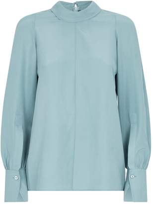 Joseph Laurel Silk Blouse