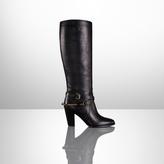 Ralph Lauren Megan Vachetta Equestrian Boot