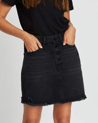 All About Eve Darcy Denim Skirt