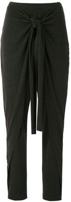 Uma | Raquel Davidowicz Mecca front tie trousers