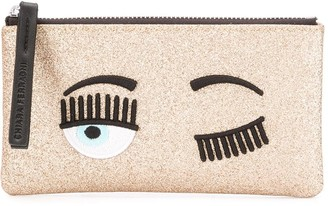 Chiara Ferragni Wink Detail Make-Up Bag