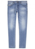 Diesel Tepphar 0842h Blue Skinny Jeans