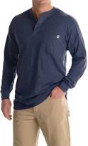 Farmall IH Henley Shirt - Long Sleeve (For Big and Tall Men)