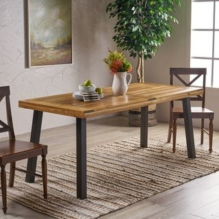 Christopher Knight Home Sparta Acacia Wood Dining Table
