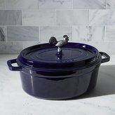 Crate & Barrel Staub ® 5.75-Qt. Dark Blue Coq Au Vin Cocotte